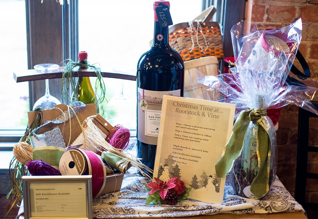 Gift Cards And Gift Baskets Rootstock And Vine