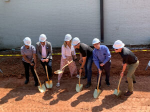 Groundbreaking ceremony Rootstock